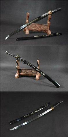 samurai sword,katana,cold weapon,hand forged Ninja Rpg, Ninja Weapons, Samurai Swords Katana, Samurai Art, Fantasy Armor, Fantasy Weapons, Swords And Daggers, Knives And Swords, Armas Ninja