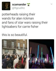 R.I.P Carrie Fisher and Alan RIckman