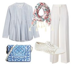 """Mid blue"" by purple-thee on Polyvore"