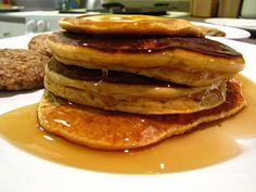 whole wheat sweet potato pancakes