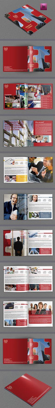Corporate Brochure Template  #brochuredesign #corporatebrochure #graphicdesign