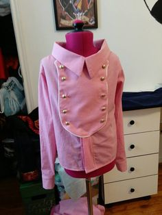 Girl's size 6 cowboy shirt - custom pattern draft