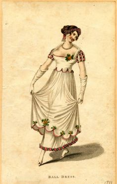 Ball dress, Autumn 1811 :: Fashion Plate Collection, 19th Century