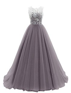 Dresstells Womens Long Tulle Prom Dress Dance Gown with Lace: $119.99 - $148.00	(On sale from $356.00)