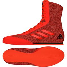 quality design 0a813 67156 Adidas Box Hog Plus Boxing Boots Mens Red Sports Shoes Trainers