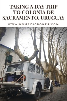 Colonia de Sacramento in Uruguay is reached easily by ferry from Buenos Aires, and makes for a nice day trip you can organise yourself.