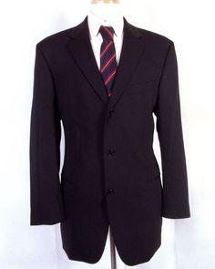 2136b14d0 Details about euc Hickey Freeman Boardroom Men's Wool Blazer Sportcoat sz  42 R | Men's Blazers and Sportcoats | Pinterest | Blazer, Wool blazer mens  and ...