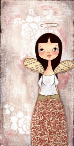 GET WELL SOON MIA. I hope you are getting better because I sure do miss you girl. Love, Ivet Angel Folk Art ~ Angel