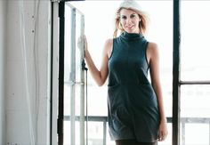 Window shopping at it's best. Browse our website www.cornerclothing.com  Model @abbyplunk wearing our Twiggy Pocket Tunic Photo: @eslee