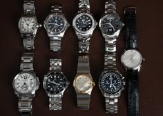 Our last update of 2016 is live, with 2 Cartier, 3 TAG Heuer, and 4 Omega watches.