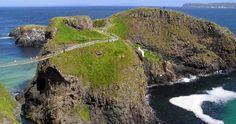 Ireland - this bridge is on my Bucket List