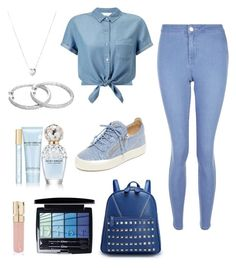 """""""Blue style"""" by irenne2004 ❤ liked on Polyvore featuring Miss Selfridge, New Look, Giuseppe Zanotti, Links of London, Smith & Cult, Christian Dior and Marc Jacobs"""