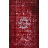 Found it at Wayfair - Hawkesbury Red Overdyed Style Harper Rug