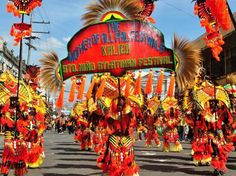 ATI-ATIHAN Kalibo, Philippines Festival