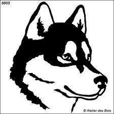 Image result for dessin de chien husky