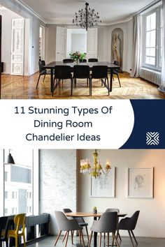 Is your dining room in need of a touch-up? A beautiful chandelier will boost your dining room design style! Feast your eyes on the most beautiful types of dining room chandeliers that will make your dining space spectacular.
