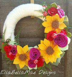 EllaBellaMae Designs wreath