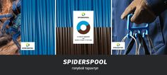 archventil_spiderspool_identity_color (3)  #archventil #spiderspool #brandidentity #3dprinting #filament #product #colorpalette #texture #web #naming #communication #spool #circle colot combination - plastic filament for 3d printing / identity / color pairs