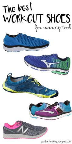 Need workout shoes that can withstand your jogs AND your lifts? These cross-trainers are the answer for most forms of exercise. // The PumpUp Blog