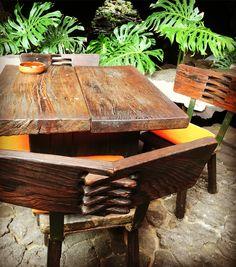 Furniture design by Cesar Manrique - Jameos Del Agua Photo @juliepizer