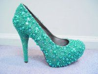 Pretty cute Blinged out  Rhinestone Stilettos