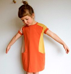 The Nore Dress (kids) pdf sewing pattern