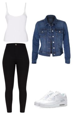 """outfits para la universidad"" by paola-oliveros on Polyvore featuring NIKE"
