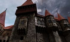 Hunyad Castle - 2010, Jeremy H. Brown on ArtStation at https://www.artstation.com/artwork/q3oge