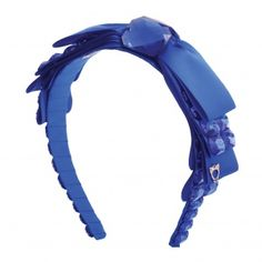 Headband by Sereni & Shentel. Bow Down in Electric Blue. Made in Borneo. Shop here: http://sereniandshentel.com/bow-down/876-bow-down-electric-blue.html $69