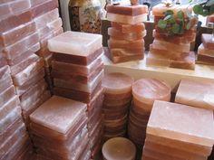 Himalayan Pink Salt Blocks To Cook On. Visit the salt cave at Elements Spa in West Hartford, CT. Himalayan Salt Block Cooking, Himalayan Rock Salt Lamp, Himalayan Salt Benefits, Salt Cave, Salt Room, Salt Rock Lamp, Best Cookbooks, Culinary Arts, Perfume