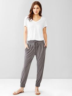 Jersey jogger pants Product Image