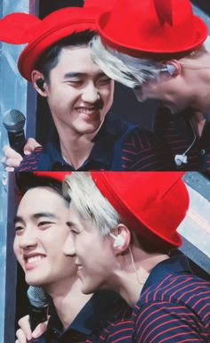 D.O SEHUN they have the most cutest smiles i cant-