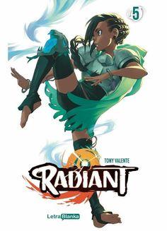 RADIANT  ISBN 9788494605192 Manga de Tony Valente