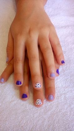 nail design for girls Lily Nails, Aycrlic Nails, Hair And Nails, Baby Girl Nails, Little Girl Nails, Home Design, Design Ideas, Kids Manicure, Chloe Nails