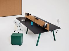 Manerba Releases the Modular Apollo Office System - Design Milk