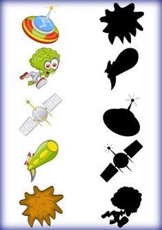 4 Emotions Preschool, Space Preschool, Preschool Learning Activities, Writing Activities, Kids Learning, Abc Coloring Pages, Space Coloring Pages, Visual Perception Activities, Fun Worksheets For Kids