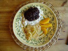 Nerozlucna kombinacia v kubanskej kuchyni. Zdrave, aromaticky ochuti obycajnu ryzu....