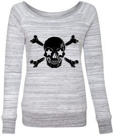 Star Skull Crossbones Sweatshirt - FTGS