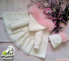 Baby and baby attire, along with social gathering evening wear, sleepsuits, vests and outdoor clothing.Crochet bathrobes for children « - Diy And HomeNo photo description available. Crochet Girls, Love Crochet, Crochet For Kids, Knitting For Kids, Hand Knitting, Beautiful Crochet, Crochet Baby Sweaters, Crochet Baby Cardigan, Crochet Baby Clothes
