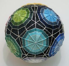 Pantone Color Prism Temari by UrbanDetritus on Etsy, $52.00
