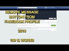How to remove message button from facebook  2017**** -   Social Media management at a fraction of the cost! Check our PRICING! #socialmarketing #socialmedia #socialmediamanager #social #manager #facebookmarketing After changing your date of birth, you can't change it back for few days.  so take care of it and do it carefully creative agency  - #FacebookTips