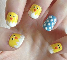 Easter Print Nail Ideas
