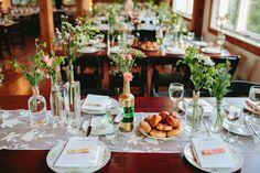 Whimsical Illinois Barn Wedding, good recommendations for caterers etc