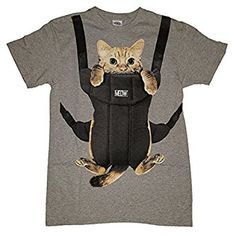 Kitty Cat Carrier Graphic T-Shirt