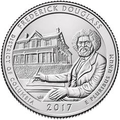 United States Mint Releases Frederick Douglass National Historic Site Quarter on April 3 - Coin Community Forum
