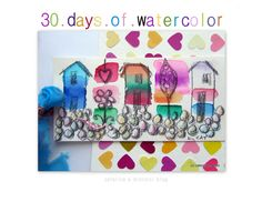 caterina e dintorni: 30 Days of watercolor / seventeen