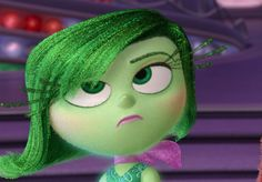 Quiz: Which Inside Out Character are You? | Quiz | Oh My Disney... I'm disgust . I'm ok with that. Comment what you got