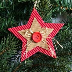 Kids Crafts, Christmas Crafts For Kids, Christmas Projects, Holiday Crafts, Kids Diy, Christmas Ideas, Ornament Crafts, Diy Christmas Ornaments, Handmade Christmas
