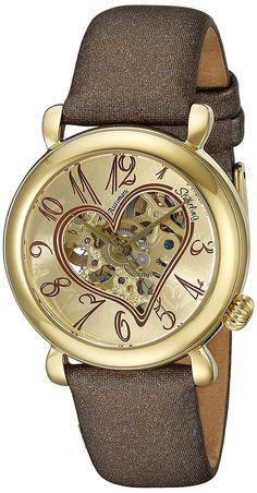f24a6c0b0f6bb Amazon.com  Stuhrling Original Women s 109.1235E31 Lifestyle  Cupid   Automatic Skeleton Watch  Stuhrling Original  Watches