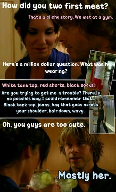 kensi and deeks first meet scene boys